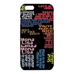 Panic At The Disco Northern Downpour Lyrics Metrolyrics iPhone 6/6S TPU Case