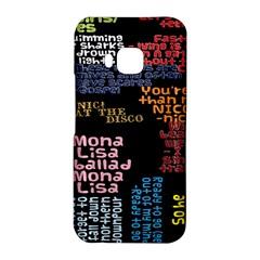 Panic At The Disco Northern Downpour Lyrics Metrolyrics HTC One M9 Hardshell Case
