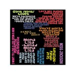 Panic At The Disco Northern Downpour Lyrics Metrolyrics Small Satin Scarf (Square) Front