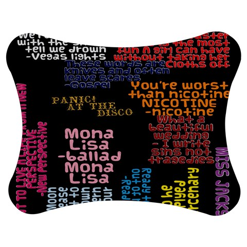 Panic At The Disco Northern Downpour Lyrics Metrolyrics Jigsaw Puzzle Photo Stand (Bow)