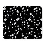 Black And White Starry Pattern Large Mousepads Front