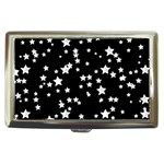 Black And White Starry Pattern Cigarette Money Cases Front