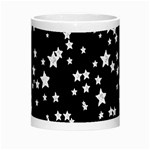Black And White Starry Pattern Morph Mugs Center