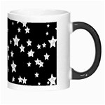 Black And White Starry Pattern Morph Mugs Right