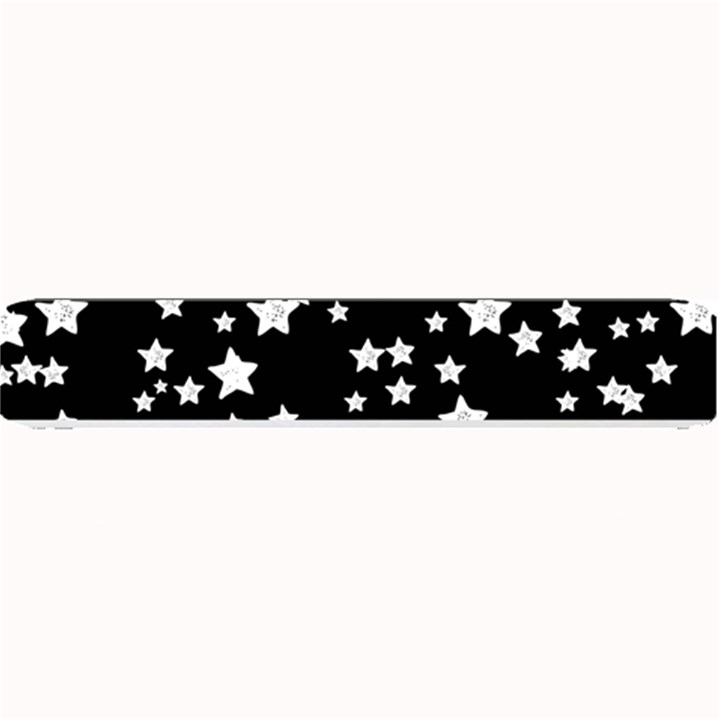 Black And White Starry Pattern Small Bar Mats
