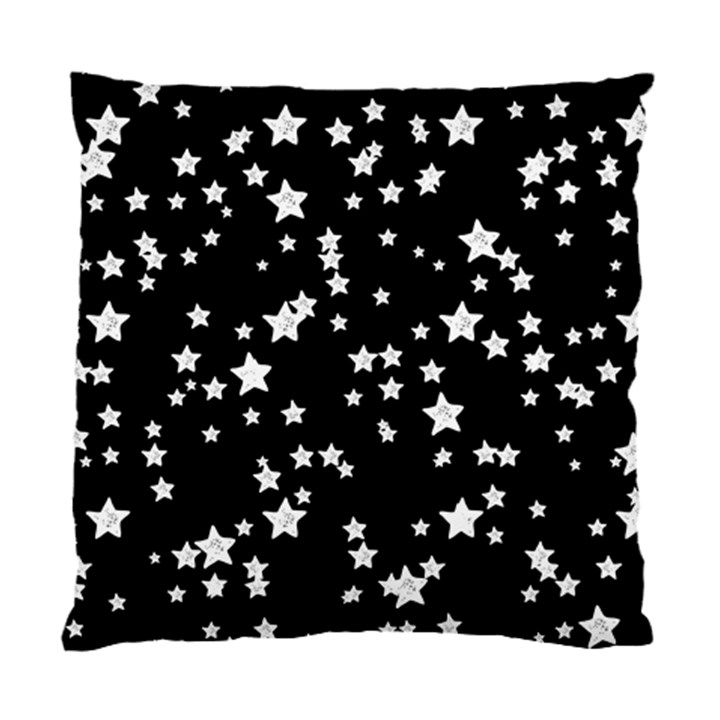 Black And White Starry Pattern Standard Cushion Case (Two Sides)