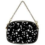 Black And White Starry Pattern Chain Purses (Two Sides)  Back