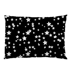 Black And White Starry Pattern Pillow Case