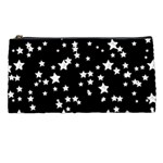 Black And White Starry Pattern Pencil Cases Front