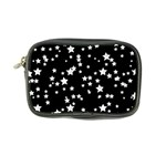 Black And White Starry Pattern Coin Purse Front