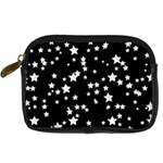 Black And White Starry Pattern Digital Camera Cases Front