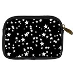 Black And White Starry Pattern Digital Camera Cases Back