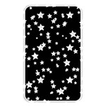 Black And White Starry Pattern Memory Card Reader Front