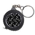 Black And White Starry Pattern Measuring Tapes Front