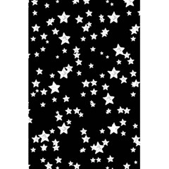 Black And White Starry Pattern 5 5  X 8 5  Notebooks