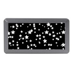 Black And White Starry Pattern Memory Card Reader (Mini)