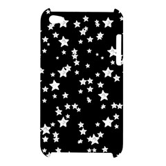 Black And White Starry Pattern Apple iPod Touch 4