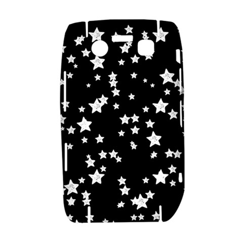 Black And White Starry Pattern Bold 9700