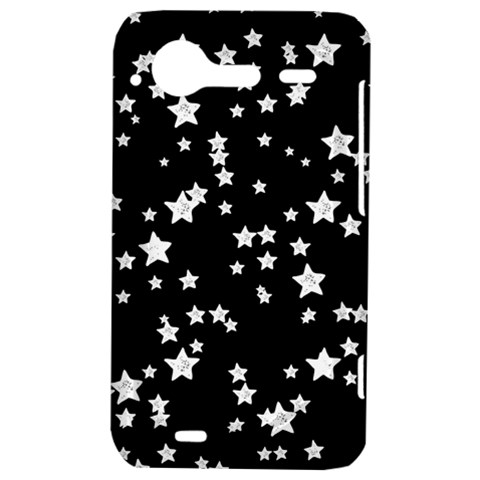 Black And White Starry Pattern HTC Incredible S Hardshell Case