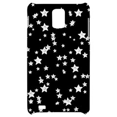 Black And White Starry Pattern Samsung Infuse 4G Hardshell Case