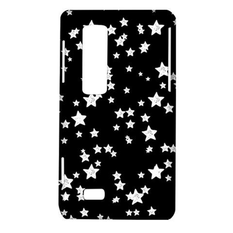 Black And White Starry Pattern LG Optimus Thrill 4G P925