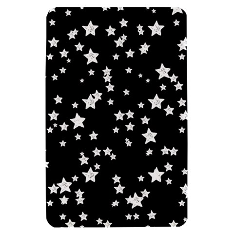Black And White Starry Pattern Kindle Fire (1st Gen) Hardshell Case