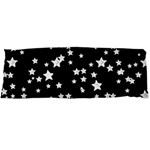 Black And White Starry Pattern Body Pillow Case Dakimakura (Two Sides) Front