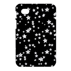 Black And White Starry Pattern Samsung Galaxy Tab 7  P1000 Hardshell Case