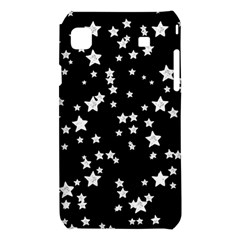 Black And White Starry Pattern Samsung Galaxy S i9008 Hardshell Case