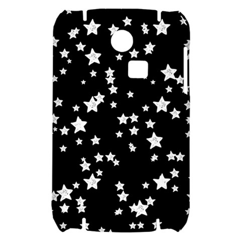 Black And White Starry Pattern Samsung S3350 Hardshell Case