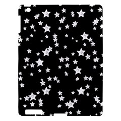 Black And White Starry Pattern Apple Ipad 3/4 Hardshell Case