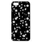 Black And White Starry Pattern Apple iPhone 5 Seamless Case (Black) Front