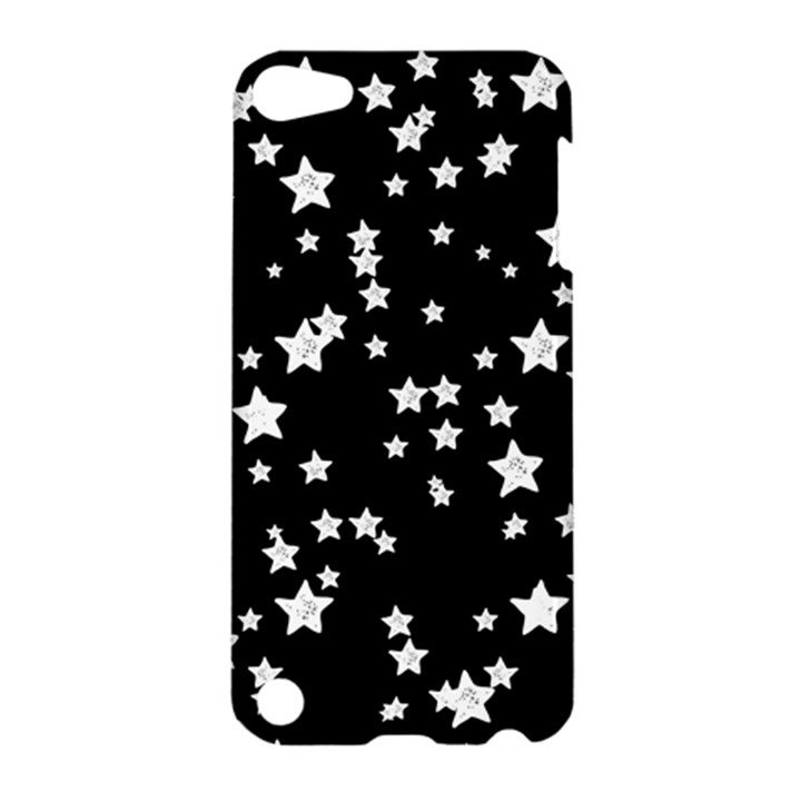 Black And White Starry Pattern Apple iPod Touch 5 Hardshell Case