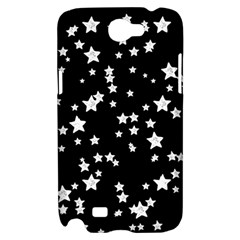 Black And White Starry Pattern Samsung Galaxy Note 2 Hardshell Case