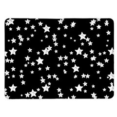 Black And White Starry Pattern Kindle Fire (1st Gen) Flip Case