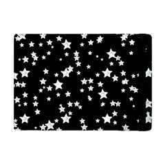 Black And White Starry Pattern Apple iPad Mini Flip Case