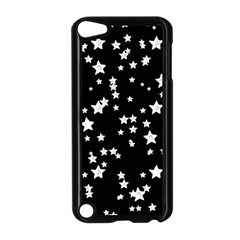 Black And White Starry Pattern Apple iPod Touch 5 Case (Black)