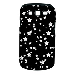 Black And White Starry Pattern Samsung Galaxy S Iii Classic Hardshell Case (pc+silicone)