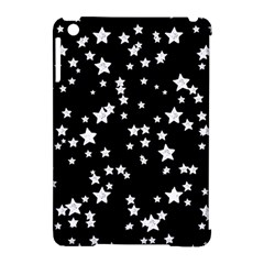 Black And White Starry Pattern Apple iPad Mini Hardshell Case (Compatible with Smart Cover)