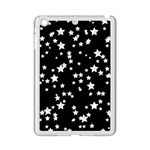 Black And White Starry Pattern iPad Mini 2 Enamel Coated Cases Front