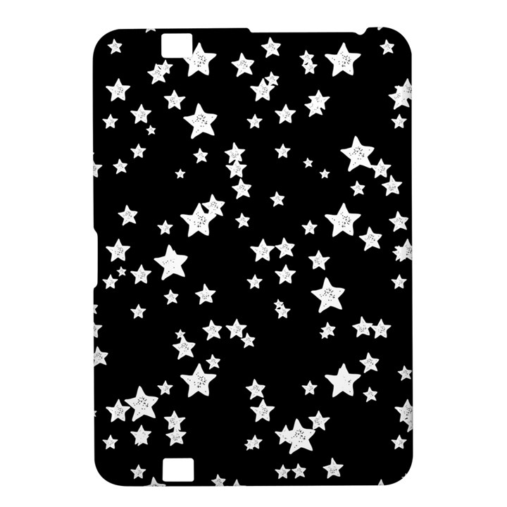 Black And White Starry Pattern Kindle Fire HD 8.9