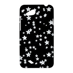 Black And White Starry Pattern HTC Desire VC (T328D) Hardshell Case