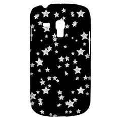Black And White Starry Pattern Samsung Galaxy S3 MINI I8190 Hardshell Case