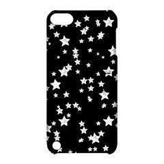 Black And White Starry Pattern Apple iPod Touch 5 Hardshell Case with Stand