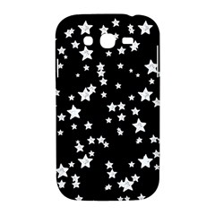 Black And White Starry Pattern Samsung Galaxy Grand DUOS I9082 Hardshell Case