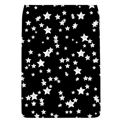 Black And White Starry Pattern Flap Covers (L)