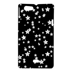 Black And White Starry Pattern Sony Xperia Miro