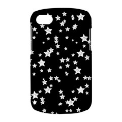 Black And White Starry Pattern BlackBerry Q10