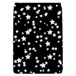 Black And White Starry Pattern Flap Covers (S)  Front