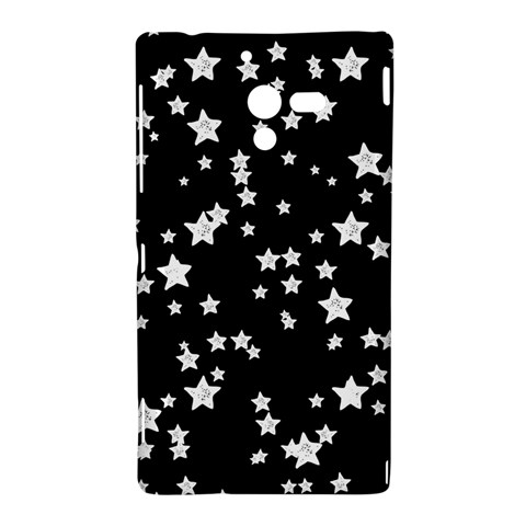 Black And White Starry Pattern Sony Xperia ZL (L35H)